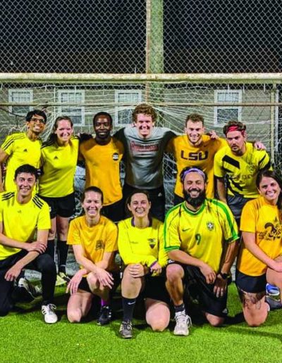 Coed Soccer Team New Orleans